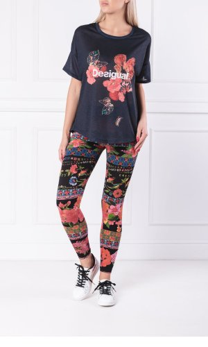 Desigual Blouse SCARLET BLOOM | Loose fit