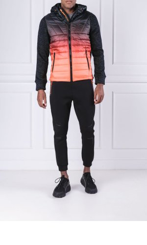 Superdry Kurtka STORM OMBRE HYBRID | Regular Fit