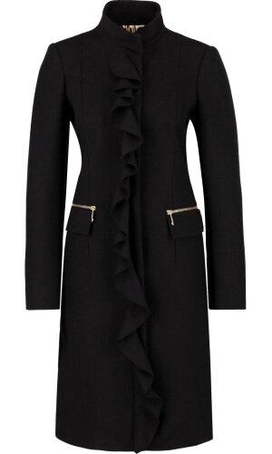 Just Cavalli Wełniany płaszcz