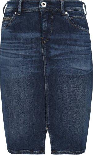 Pepe Jeans London Spódnica TAYLOR | denim