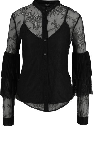 Guess Jeans Koronkowa bluzka + top ESMERALDA | Regular Fit
