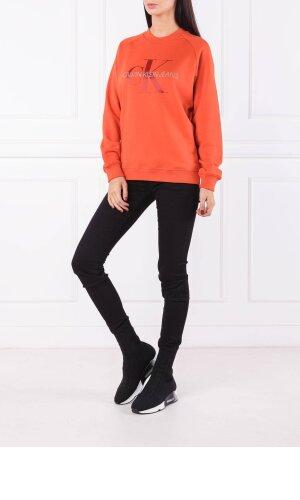 Calvin Klein Jeans Bluza SATIN MONOGRAM | Relaxed fit