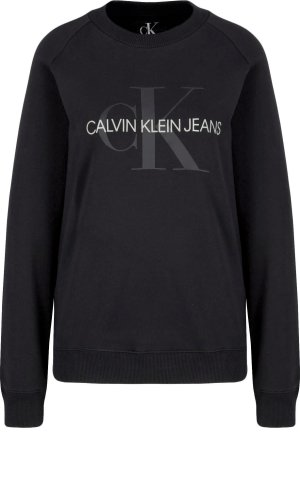 Calvin Klein Jeans Bluza SATIN MONOGRAM | Relaxed fit
