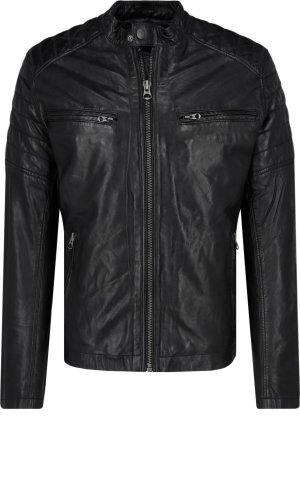 Pepe Jeans London Leather jacket KEITH | Regular Fit