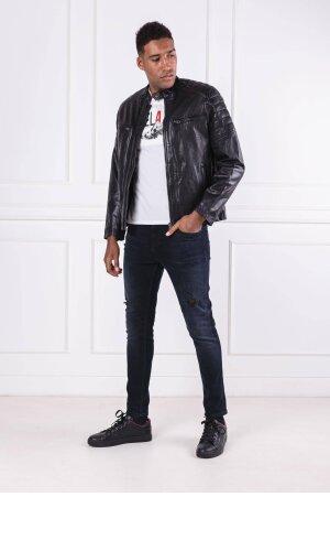 Pepe Jeans London Skórzana kurtka KEITH | Regular Fit