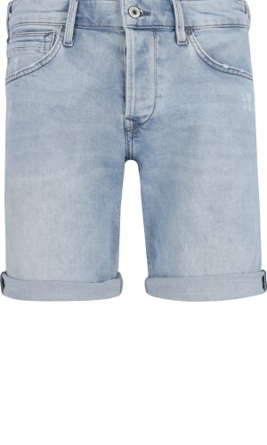 Pepe Jeans London Szorty CHAP SHORT URBAN LIGHT | Slim Fit | denim