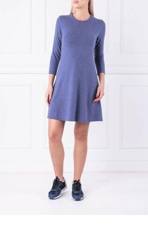 Lacoste Wełniana sukienka | z dodatkiem kaszmiru