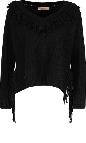 Twinset Wełniany sweter | Regular Fit