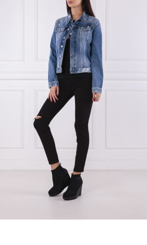 Calvin Klein Jeans Kurtka jeansowa Cleanline Trucker | Regular Fit