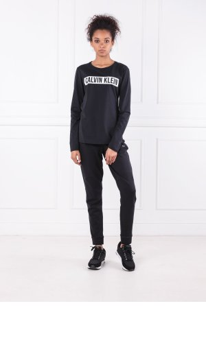 Calvin Klein Performance Bluzka LS TEE LOGO | Regular Fit