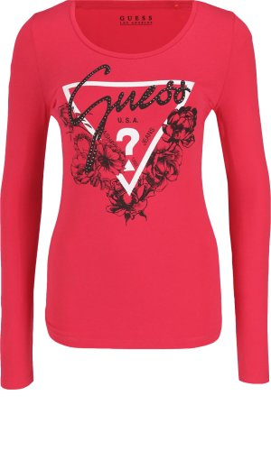Guess Jeans Blouse LS CN ROSES | Slim Fit