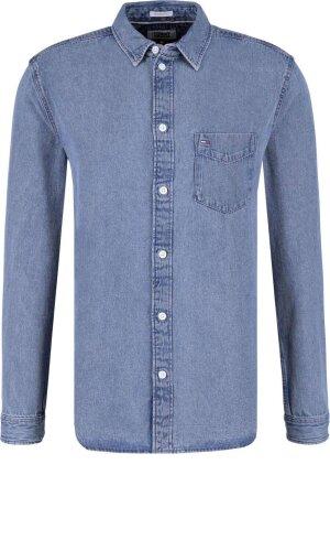 Tommy Jeans Koszula   Regular Fit   denim