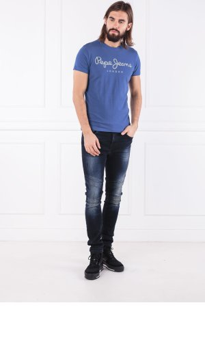 Pepe Jeans London T-shirt original stretch | Slim Fit