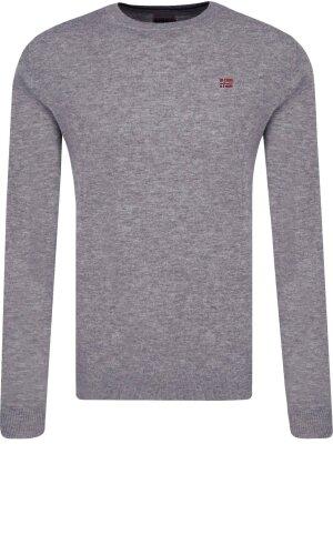 Napapijri Wełniany sweter Damavand Crew | Regular Fit