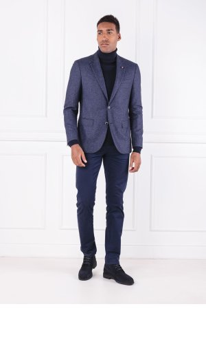 Tommy Hilfiger Tailored Wełniany Golf LUXURY WOOL ROLL NEC | Regular Fit