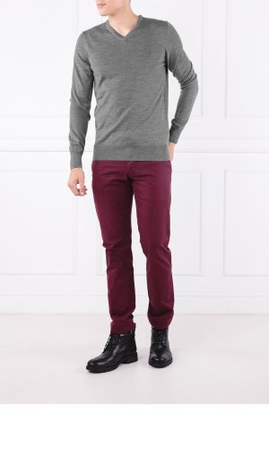 Tommy Hilfiger Tailored Wełniany sweter LUXURY | Regular Fit