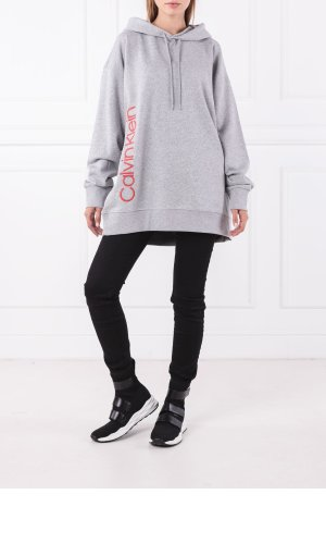Calvin Klein Bluza HOODED LOGO | Loose fit