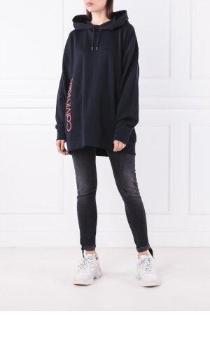Calvin Klein Bluza HOODED LOGO | Loose fit