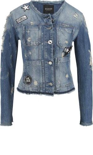 Guess Jeans Kurtka jeansowa LAILA | Slim Fit