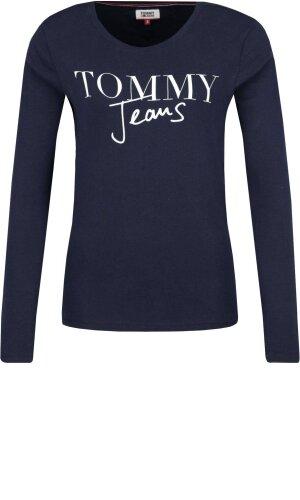 Tommy Jeans Bluzka TJW SCRIPT LOGO | Regular Fit