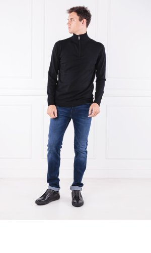 Karl Lagerfeld Wełniany sweter TROYER | Regular Fit