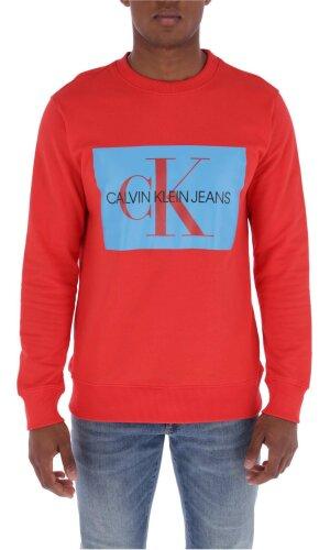 Calvin Klein Jeans Bluza MONOGRAM BOX LOGO | Regular Fit