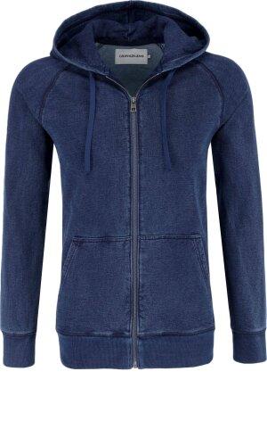 Calvin Klein Jeans Bluza INDIGO INSTITUTIONAL | Regular Fit