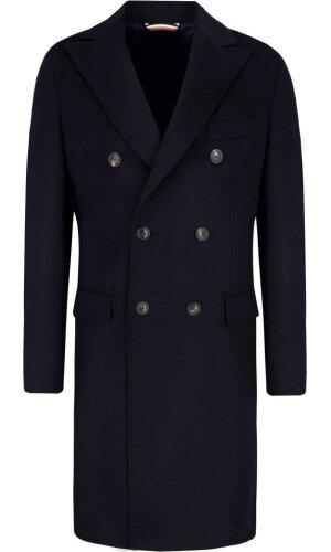 Tommy Hilfiger Tailored Wełniany Płaszcz tailored