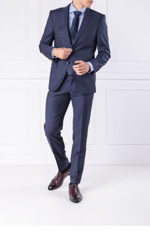 Joop! COLLECTION Wełniana marynarka Herby | Slim Fit
