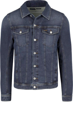 Diesel Kurtka jeansowa ELSHAR-NE   Regular Fit