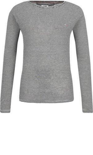 Tommy Jeans Bluzka TJW FINE STRIPE LONG | Regular Fit