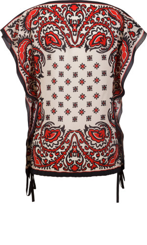 Red Valentino Silk blouse | Loose fit