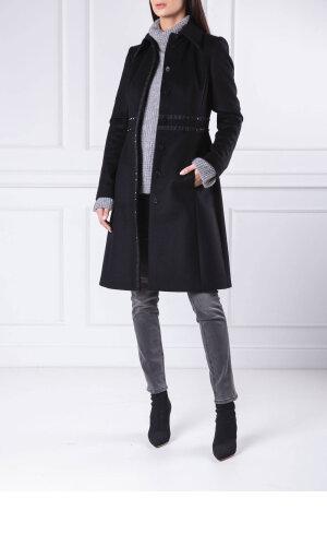 Boss Wełniany płaszcz Castida