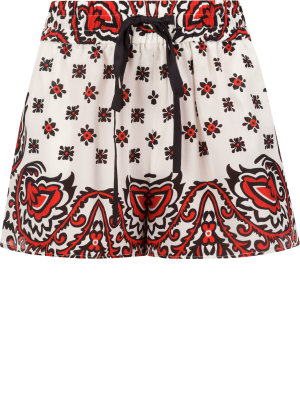 Red Valentino Silk shorts | Regular Fit