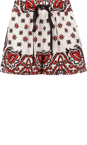 Red Valentino Silk shorts | Regular Fit