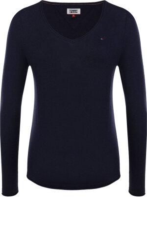 Tommy Jeans Sweter z dodatkiem wełny