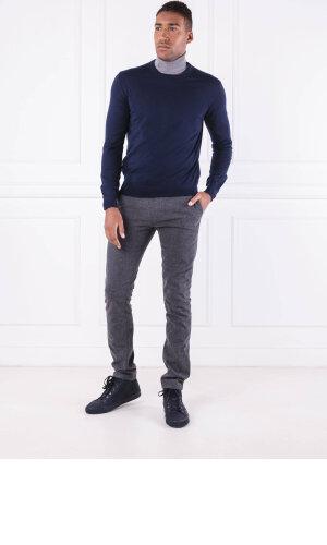 Hackett London Wełniany sweter FF GG MERINO CREW | Regular Fit