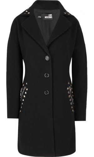 Love Moschino Wool coat   Loose fit