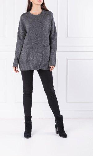 Polo Ralph Lauren Wełniany sweter | Loose fit | z dodatkiem kaszmiru