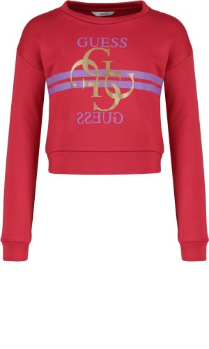 Guess Bluza LS FLEECE_MINI ME | Regular Fit
