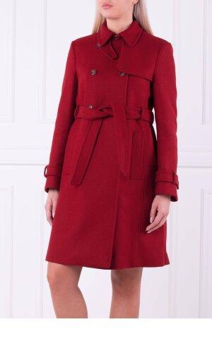 Red Valentino Wełniany płaszcz