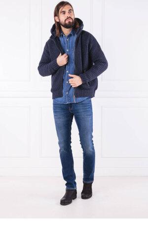 Pepe Jeans London Kurtka LEICESTER | Regular Fit | z dodatkiem wełny