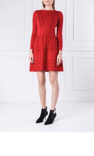 Boutique Moschino Wełniana sukienka