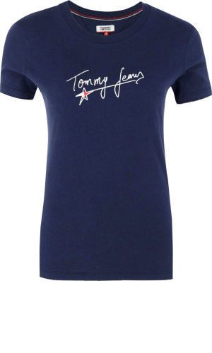 Tommy Jeans T-shirt TJW FEMININE SCRIPT | Regular Fit
