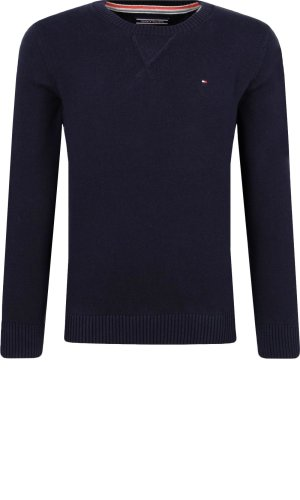 Tommy Hilfiger Sweter BASIC HTR CN | Regular Fit