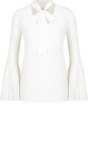 Michael Kors Jedwabna bluzka | Regular Fit