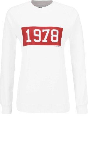 Calvin Klein Jeans Bluza HELENE 1978 CN HWK L | Relaxed fit