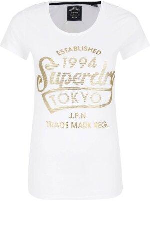 Superdry T-shirt TOKYO SPORTS FOIL ENTRY TEE | Regular Fit