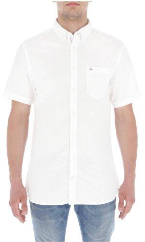Tommy Hilfiger Lniana koszula ENGINEERED | Regular Fit