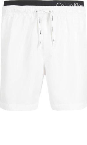 Calvin Klein Swimwear Szorty kąpielowe MEDIUM DOUBLE WB | Regular Fit